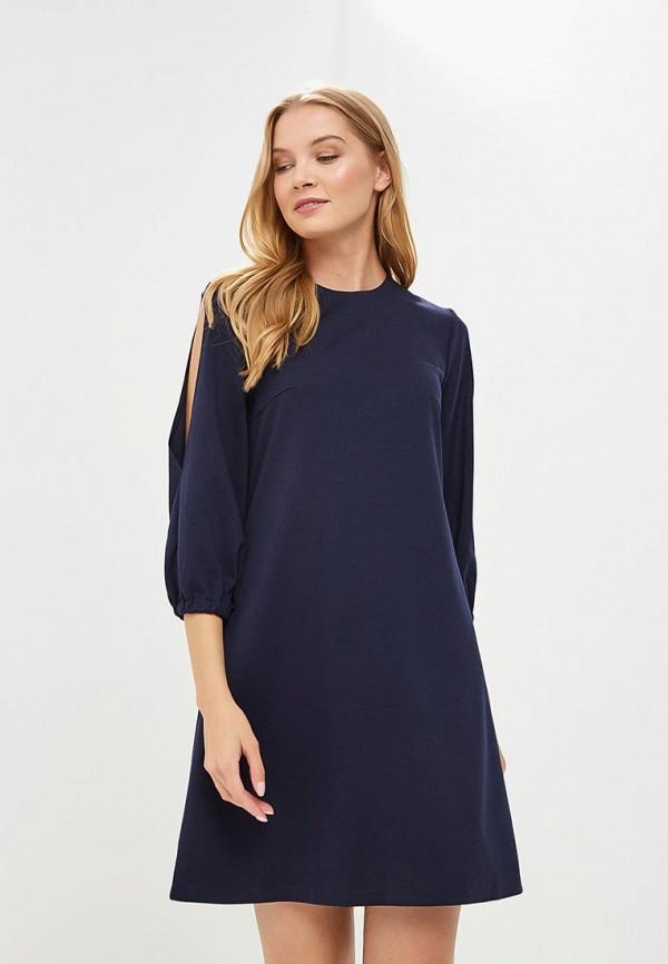 Купить Платье Froggi, mp002xw18wzv, синий, Весна-лето 2018