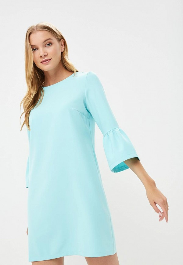 Купить Платье Froggi, mp002xw18x03, бирюзовый, Весна-лето 2018