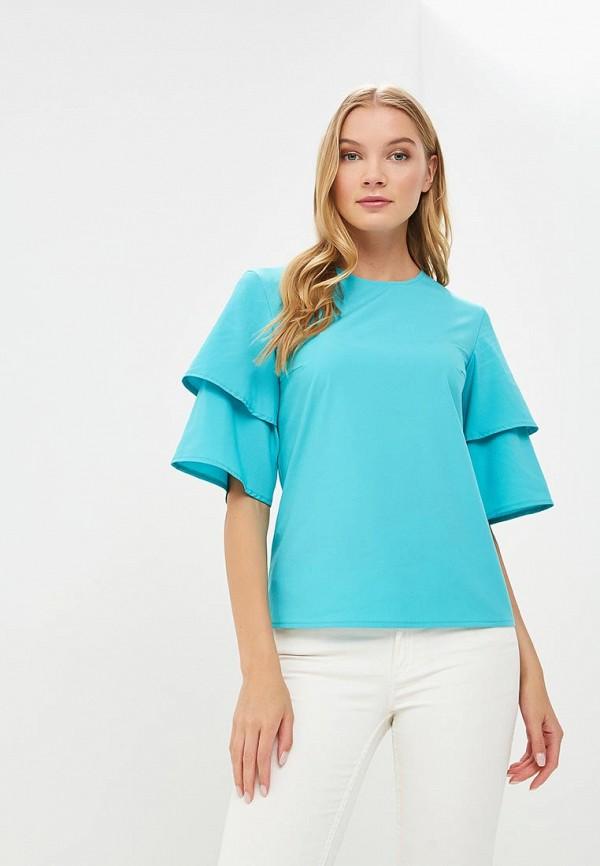 Купить Блуза Froggi, mp002xw18x18, бирюзовый, Весна-лето 2018