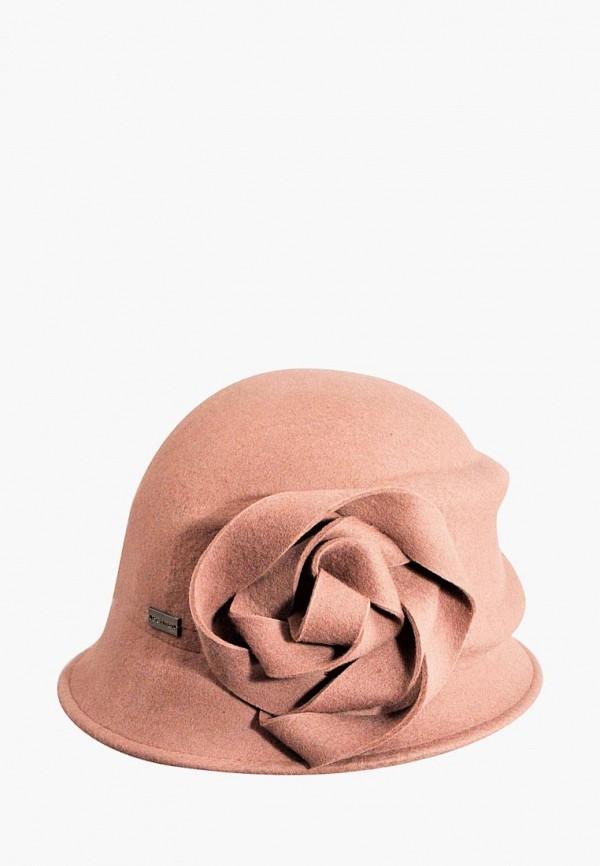 женская шляпа betmar, розовая