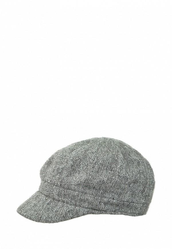 женская кепка betmar, серая