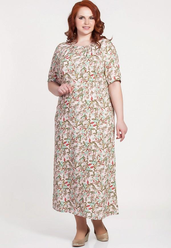 женское платье olga peltek, розовое