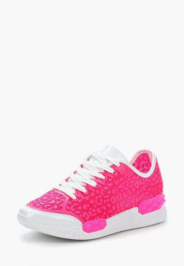 женские кроссовки chezoliny, розовые