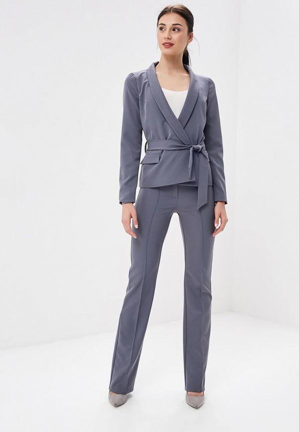 женский костюм zerkala, серый