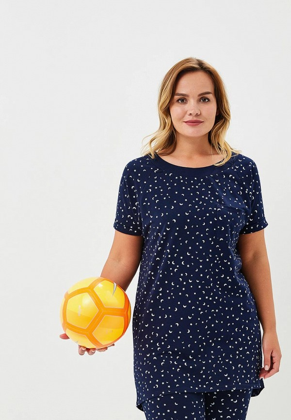 Купить Футболка домашняя Griol, MP002XW18Y1W, синий, Весна-лето 2018