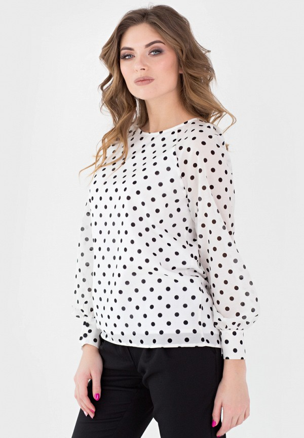 Фото - Женскую блузку Filigrana белого цвета