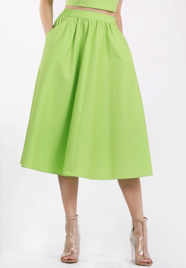 женская юбка panove, зеленая