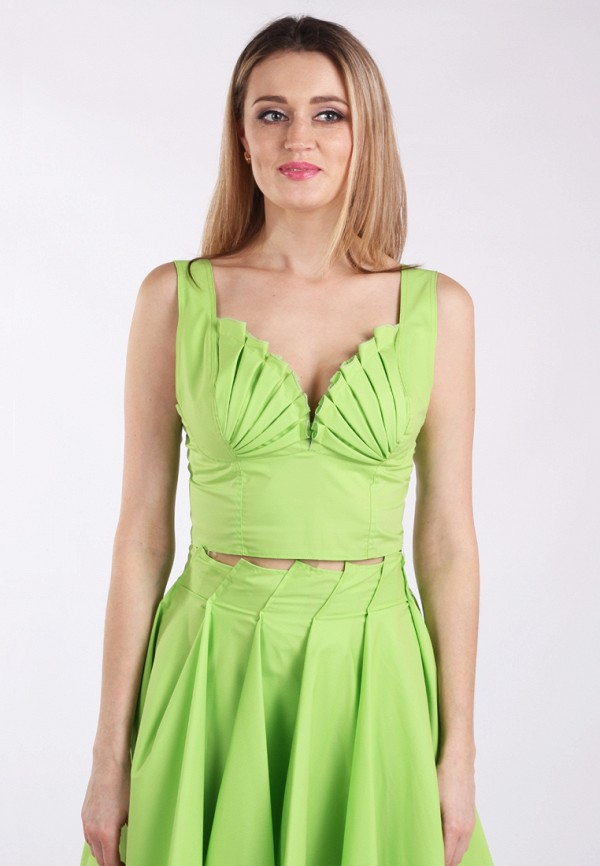 женский топ panove, зеленый