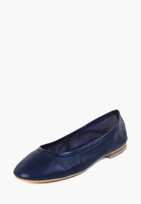 женские балетки airbox, синие