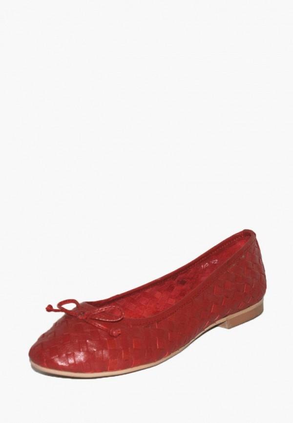 женские балетки airbox, красные