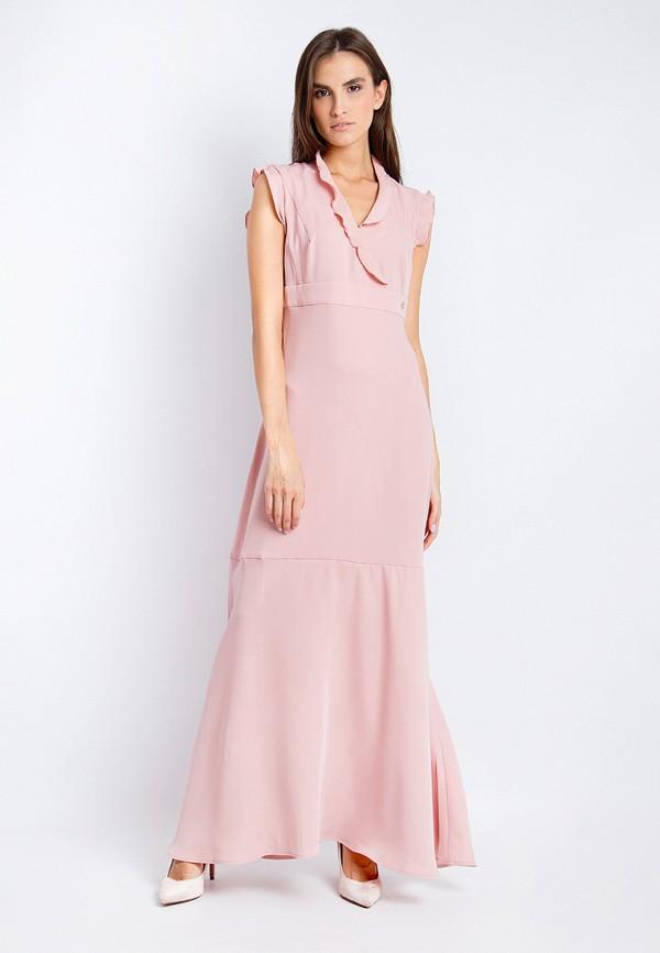 Купить Платье Finn Flare, CHAPURIN for FINN FLARE, mp002xw18y4b, розовый, Весна-лето 2018