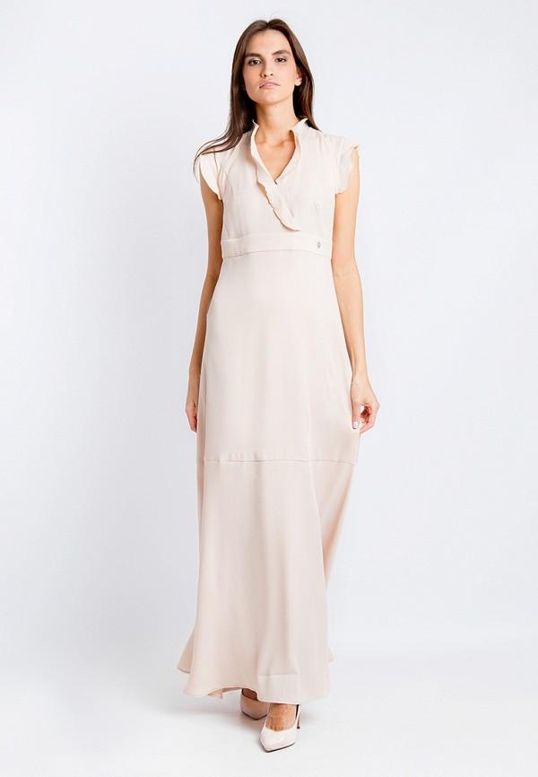Купить Платье Finn Flare, CHAPURIN for FINN FLARE, MP002XW18Y4C, бежевый, Весна-лето 2018