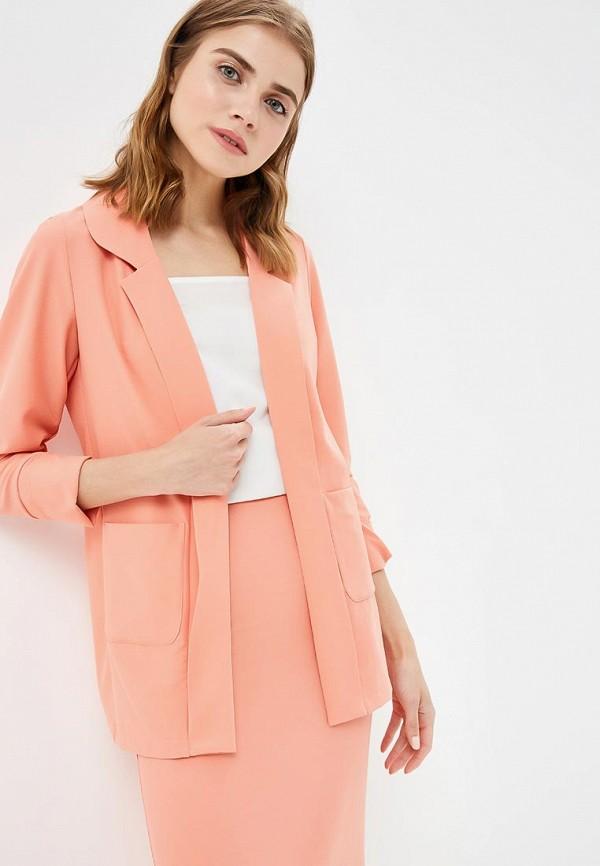 женский пиджак sahera rahmani, розовый