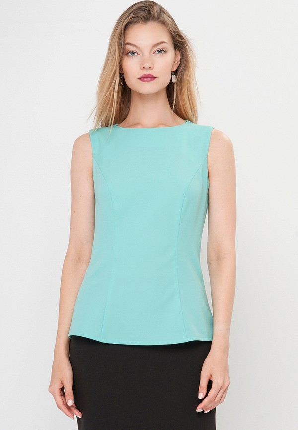Блуза Limonti Limonti MP002XW18YDM блуза тренд безупречная цвет синий бирюзовый