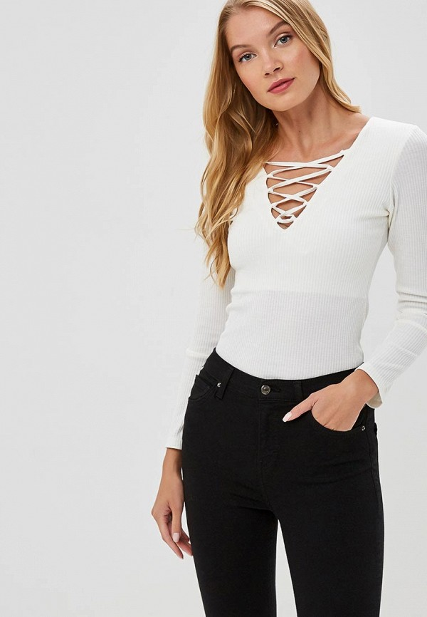 женский пуловер freespirit, белый