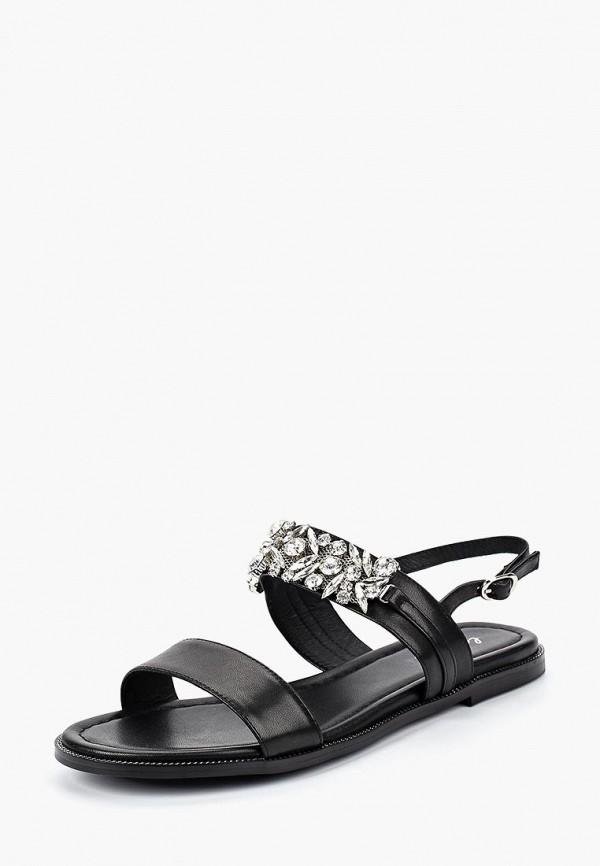 женские сандалии la biali, черные