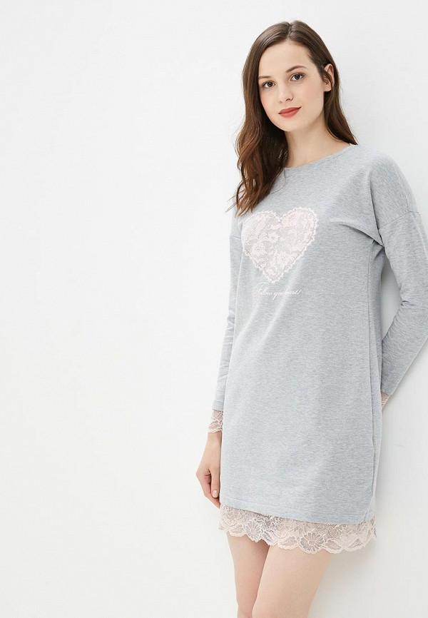 Купить Платье домашнее Belarusachka, MP002XW18YSD, серый, Весна-лето 2018