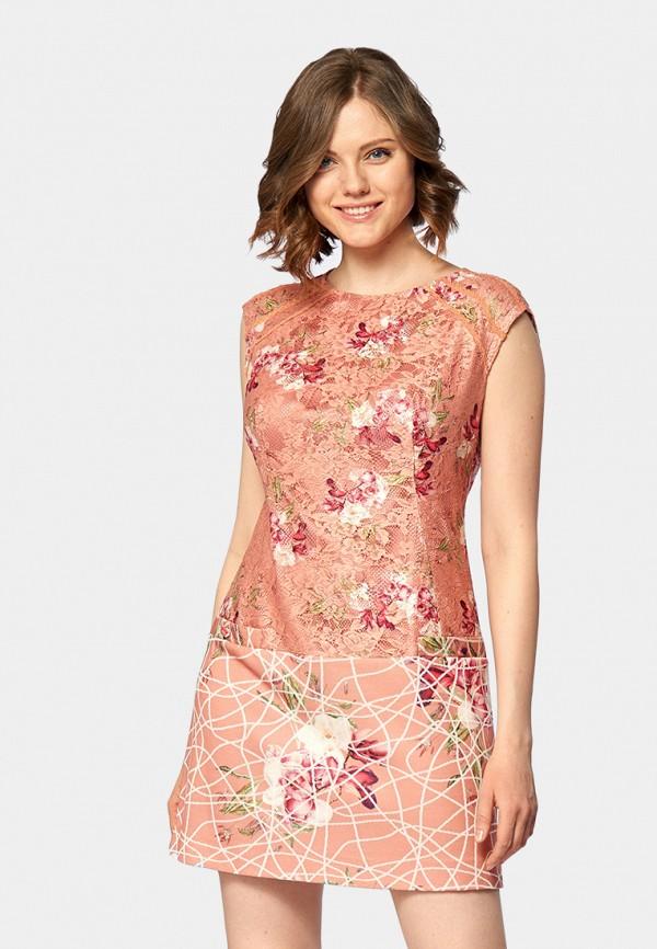 Купить Платье Ано, MP002XW18Z05, коралловый, Весна-лето 2018