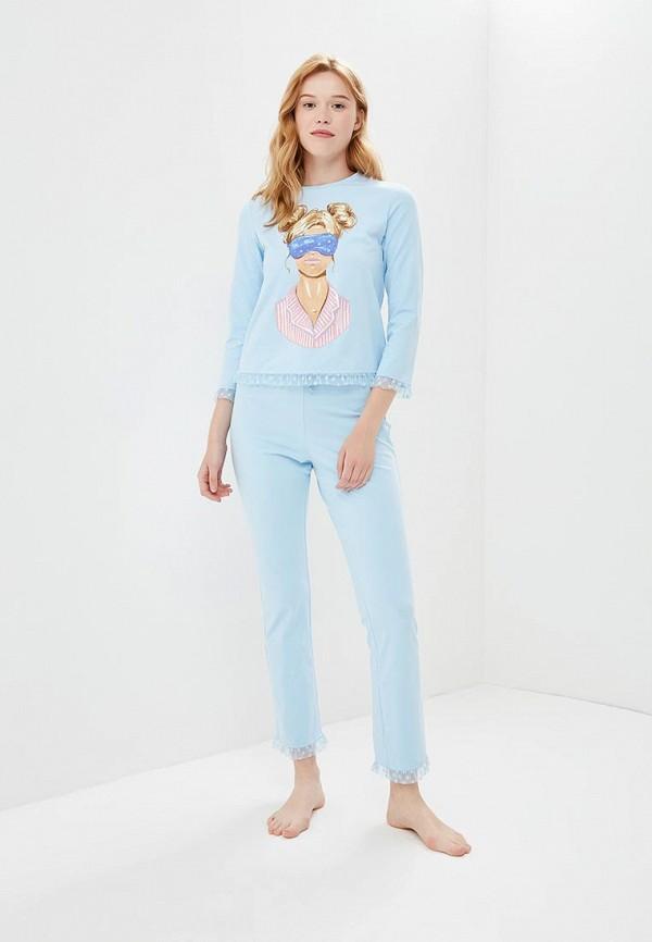 Купить Пижама Fashion.Love.Story, mp002xw18z1q, голубой, Весна-лето 2018
