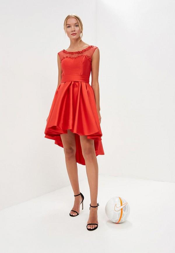 Платье X'Zotic, MP002XW18Z81, красный, Весна-лето 2018  - купить со скидкой