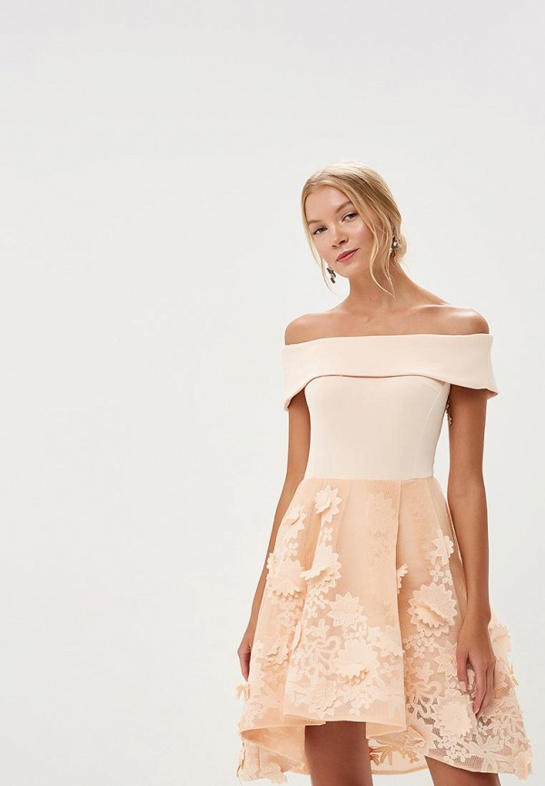 Купить Платье X'Zotic, mp002xw18z8c, бежевый, Весна-лето 2018