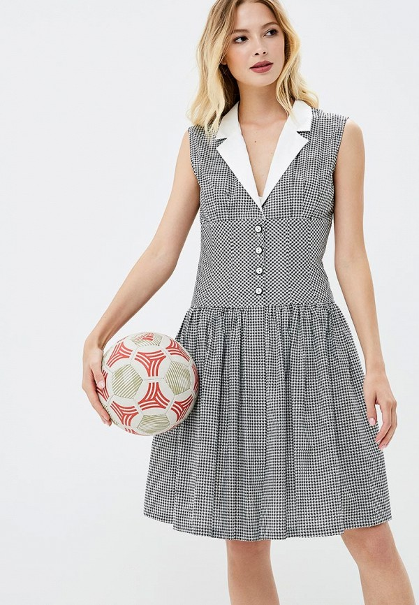 Купить Платье Galina Vasilyeva, MP002XW18ZAI, черный, Весна-лето 2018