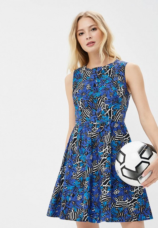 Купить Платье Galina Vasilyeva, MP002XW18ZAQ, синий, Весна-лето 2018