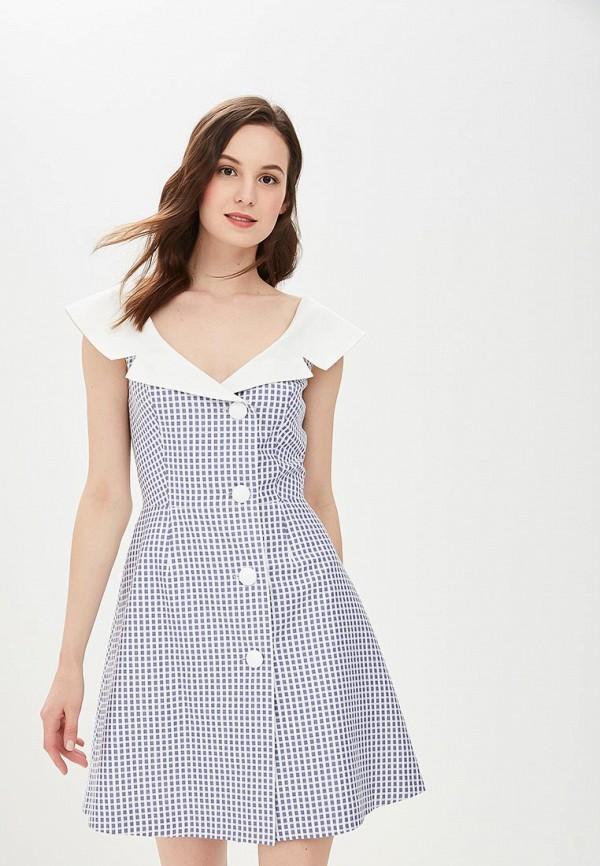 Купить Платье Galina Vasilyeva, MP002XW18ZB0, синий, Весна-лето 2018