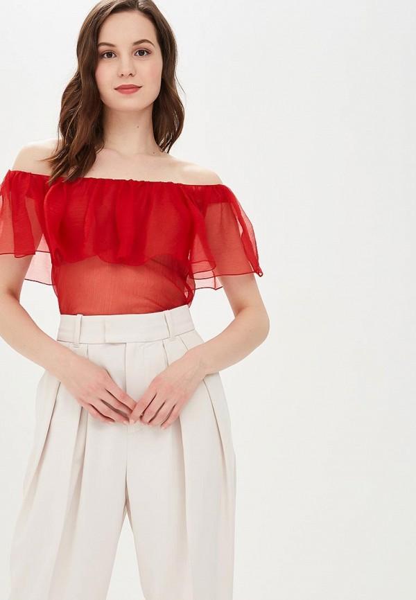 Фото - Женскую блузку Galina Vasilyeva красного цвета