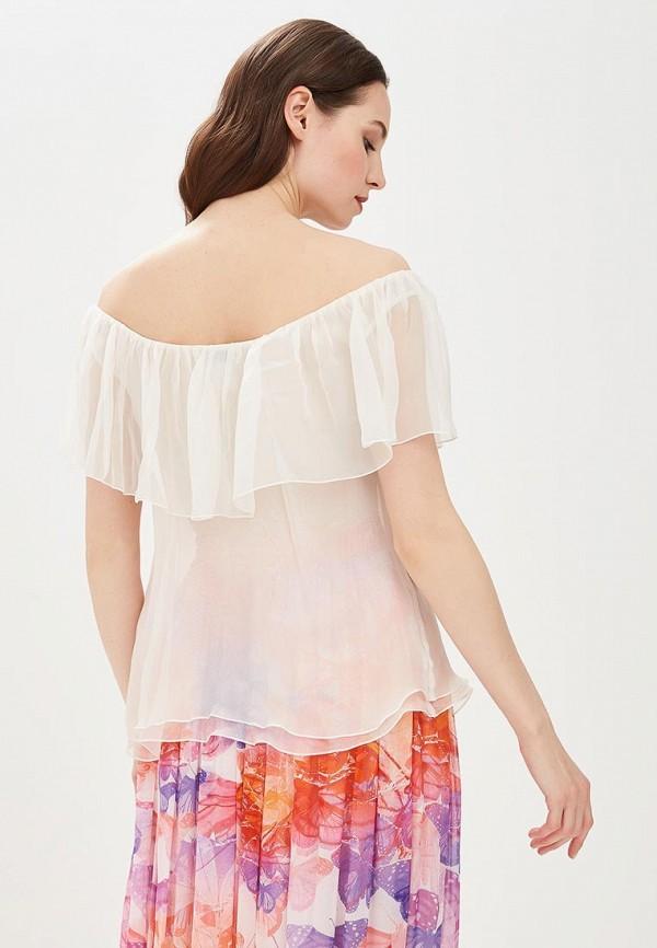 Фото 3 - Женскую блузку Galina Vasilyeva белого цвета