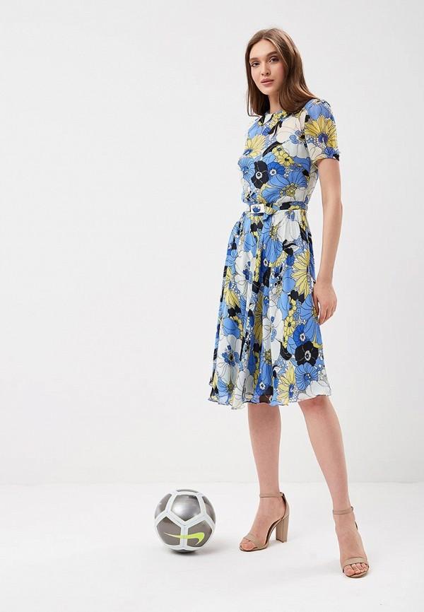 Купить Платье Galina Vasilyeva, MP002XW18ZBA, синий, Весна-лето 2018