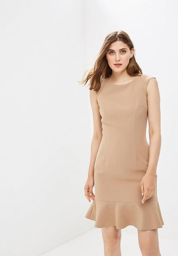 женское повседневные платье vittoria vicci, коричневое