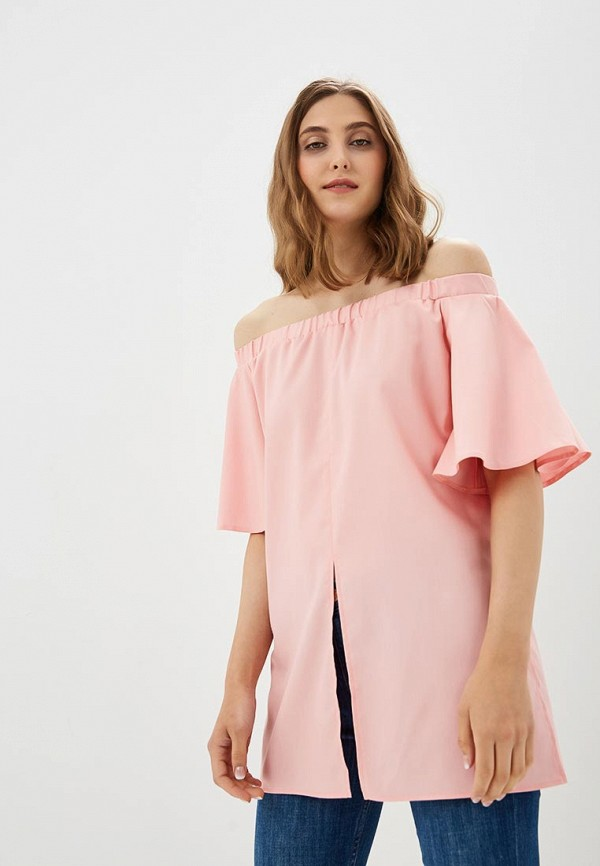 женская блузка vittoria vicci, розовая