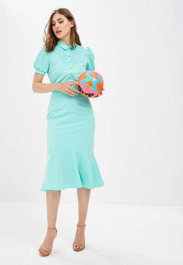 Купить Платье Vittoria Vicci, MP002XW18ZJD, зеленый, Весна-лето 2018