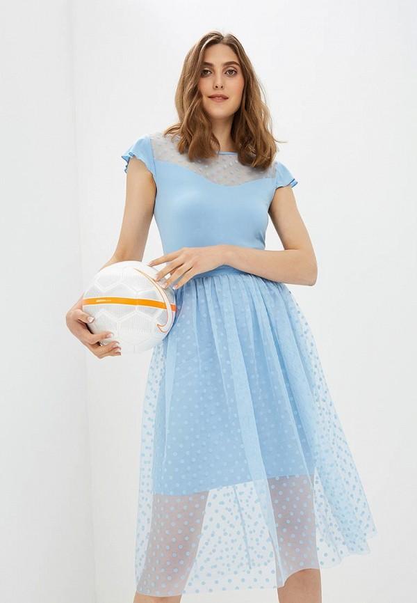Купить Платье Vittoria Vicci, MP002XW18ZJI, голубой, Весна-лето 2018