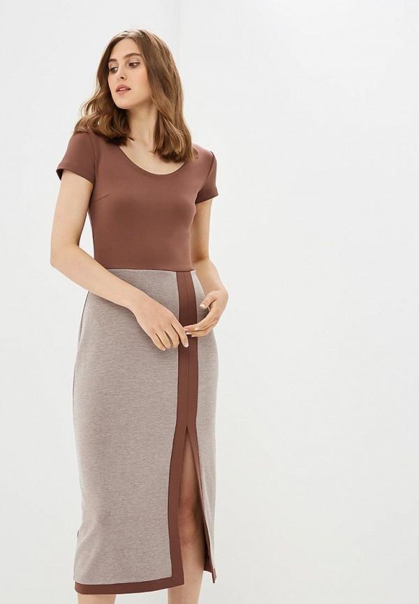Купить Платье Vittoria Vicci, MP002XW18ZK3, коричневый, Весна-лето 2018