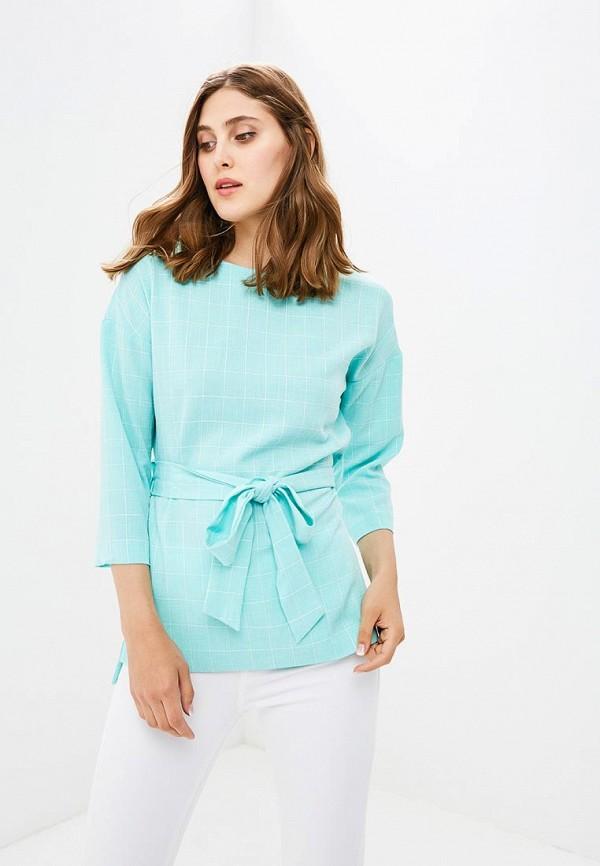 Блуза Vittoria Vicci Vittoria Vicci MP002XW18ZKZ блуза тренд безупречная цвет синий бирюзовый