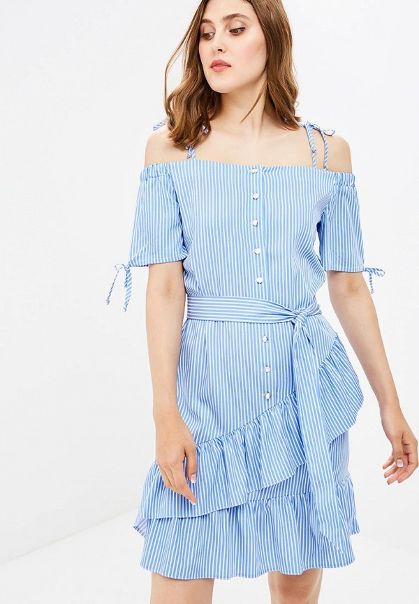 Купить Сарафан Vittoria Vicci, MP002XW18ZLO, голубой, Весна-лето 2018