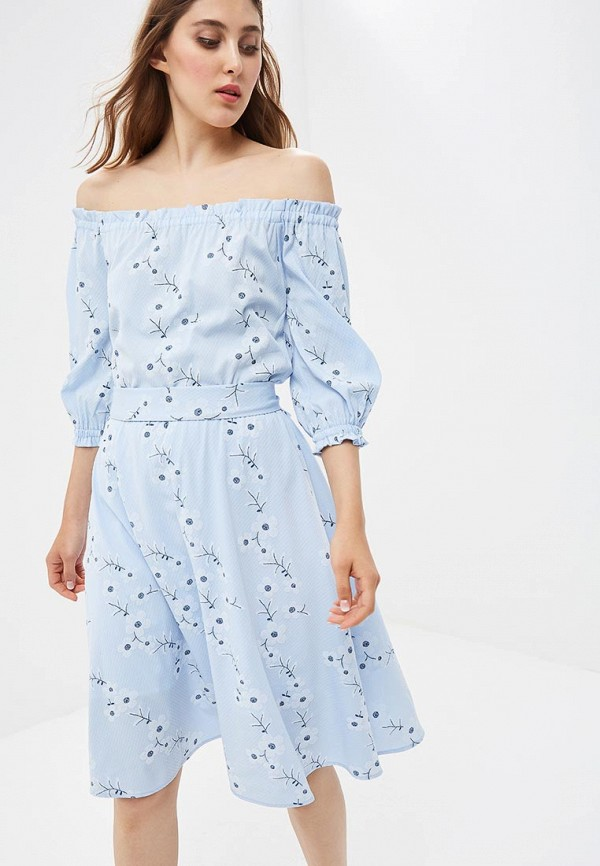 Купить Платье Vittoria Vicci, MP002XW18ZLW, голубой, Весна-лето 2018