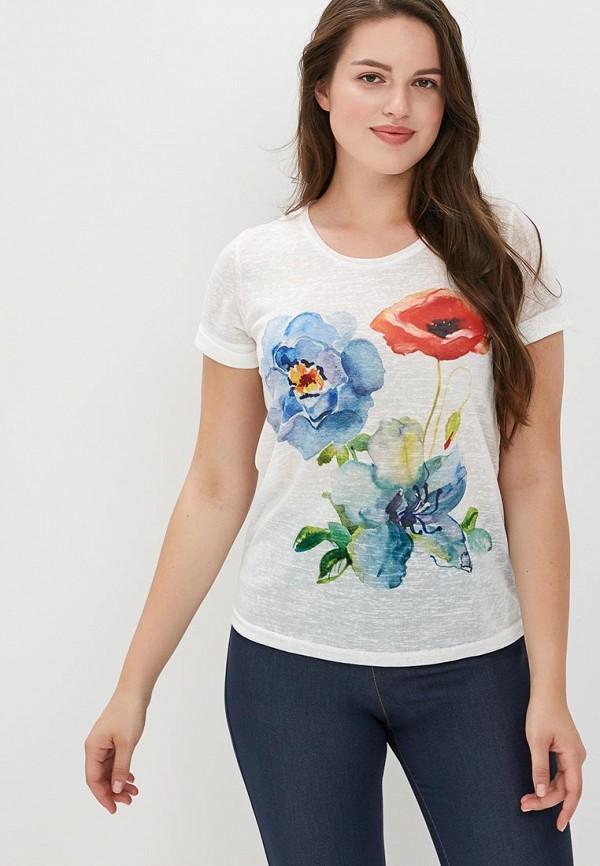 Фото - Женскую футболку MaDenna белого цвета