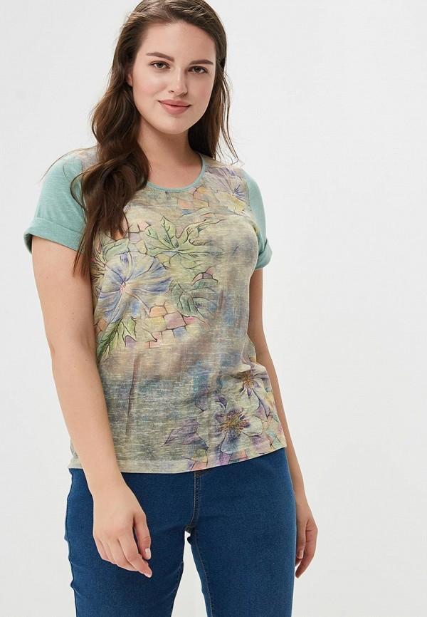 Фото - Женскую футболку MaDenna зеленого цвета