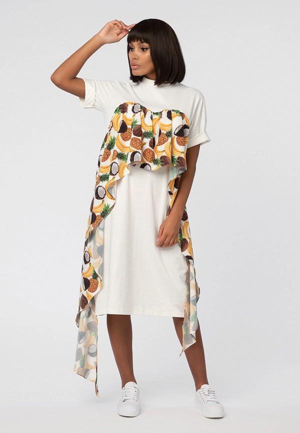 Купить Платье LMP, MP002XW18ZRI, бежевый, Весна-лето 2018
