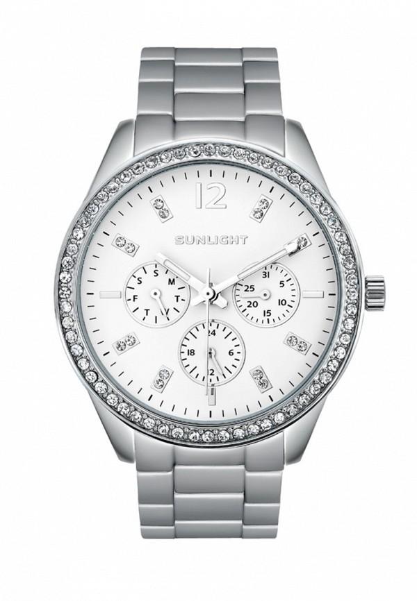 Купить Часы Sunlight, mp002xw19035, серебряный, Весна-лето 2018