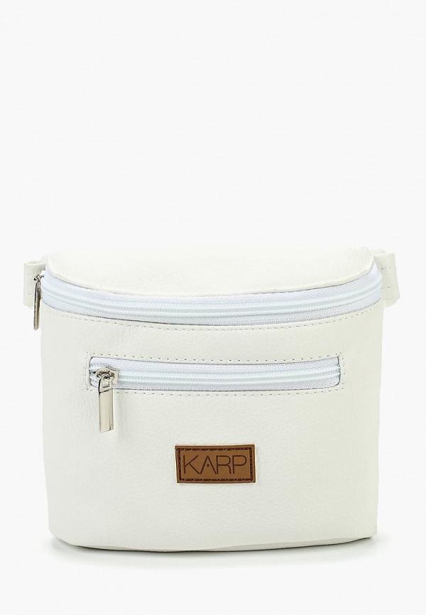 женская сумка karp, белая