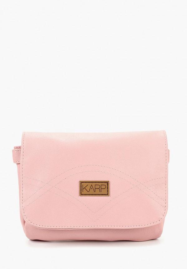 Купить Сумка Karp, JOY, mp002xw1908s, розовый, Весна-лето 2018