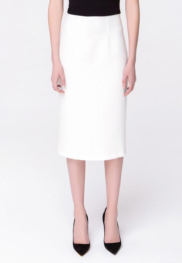 женская зауженные юбка minimally, белая