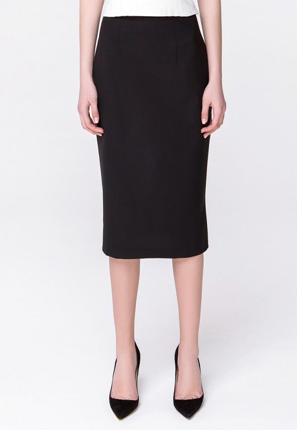 женская зауженные юбка minimally, черная