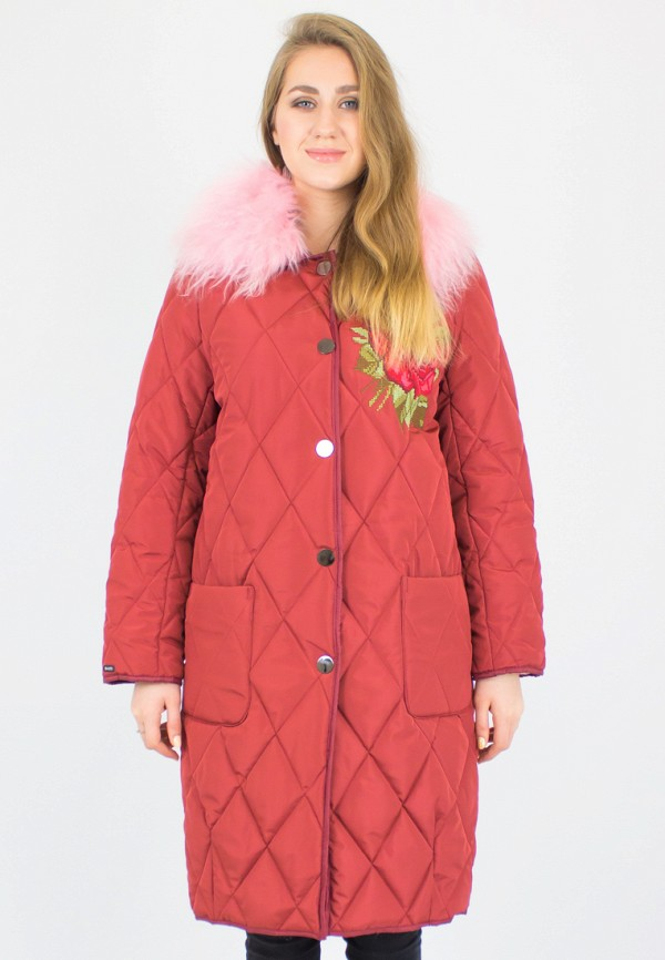 Купить Куртка утепленная Dasti, mp002xw190ga, бордовый, Весна-лето 2018