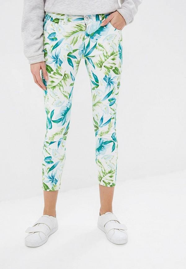 женские повседневные брюки blue monkey, зеленые