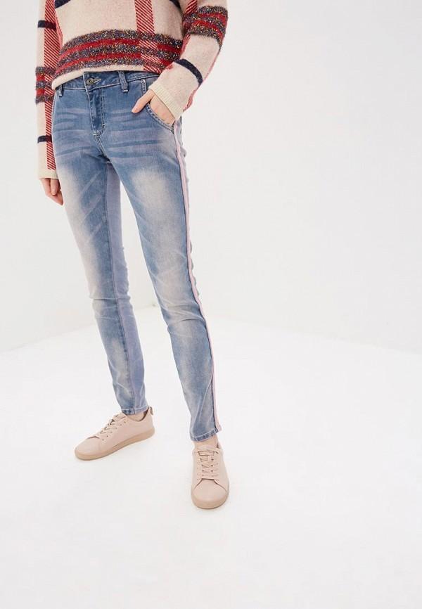 женские джинсы blue monkey, голубые